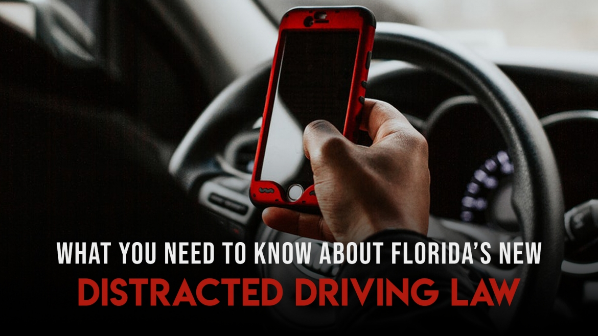 What You Need to Know About Florida's New Distracted Driving Law