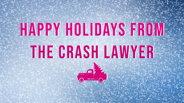 Happy Holidays from The Crash Lawyers